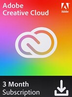 Adobe Creative Cloud 3 Months (PC/Mac) - Adobe Key - GLOBAL