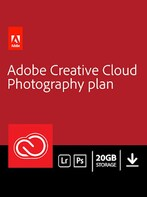 Adobe Creative Cloud Photography Plan 20 GB Subscription 3 Months - Adobe Key - UNITED STATES