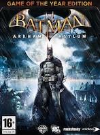 Batman: Arkham Asylum GOTY (PC) - Steam Key - GLOBAL