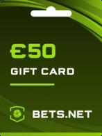 Bets.net Gift Card GLOBAL 50 EUR