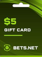 Bets.net GLOBAL Code 5 USD