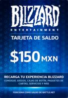 Blizzard Gift Card 150 MXN Battle.net MEXICO