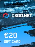 CSGO.net Gift Card EUROPE 20 EUR