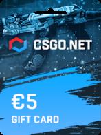 CSGO.net Gift Card EUROPE 5 EUR