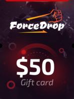 Forcedrop.gg Gift Card 50 USD - Code GLOBAL