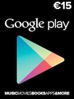 Google Play Gift Card 15 EUR - Google Play Key - SPAIN
