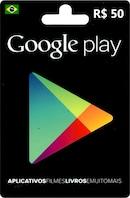 Google Play Gift Card 50 BRL BRAZIL
