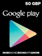 Google Play Gift Card 50 GBP UNITED KINGDOM
