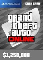 Grand Theft Auto Online: Great White Shark Cash Card 1 250 000 PSN Key GLOBAL
