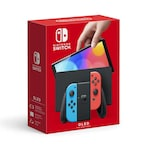 Nintendo Switch OLED Console Pre-Order - Neon Blue/Neon Red