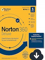 Norton 360 Deluxe + 50 GB Cloud Storage (5 Devices, 1 Year) - Key - EUROPE