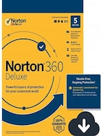 Norton 360 Deluxe + 50 GB Cloud Storage (5 Devices, 1 Year) - Symantec Key - UNITED STATES / CANADA