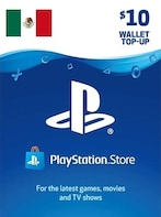 PlayStation Network Gift Card 10 USD MEXICO PSN Key