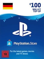 PlayStation Network Gift Card 100 EUR - PSN GERMANY