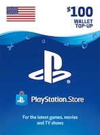 PlayStation Network Gift Card 100 USD PSN UNITED STATES