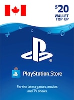 PlayStation Network Gift Card 20 CAD - PSN CANADA