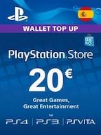 PlayStation Network Gift Card 20 EUR PSN SPAIN