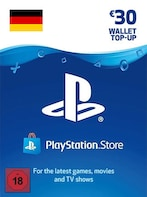 PlayStation Network Gift Card 30 EUR - PSN GERMANY