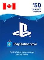 PlayStation Network Gift Card 50 CAD - PSN CANADA