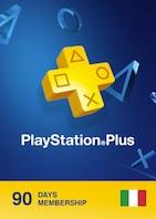 Playstation Plus CARD 90 Days PSN ITALY