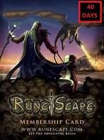 RuneScape Membership Timecard 40 Days (PC) - Runescape Key - GLOBAL