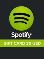 Spotify Gift Card 30 USD Spotify UNITED STATES