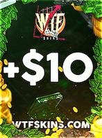 WTFSkins Code 10 USD