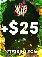 WTFSkins Code 25 USD