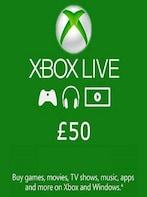 XBOX Live Card (Xbox One) 50 GBP - Xbox Live Key - UNITED KINGDOM