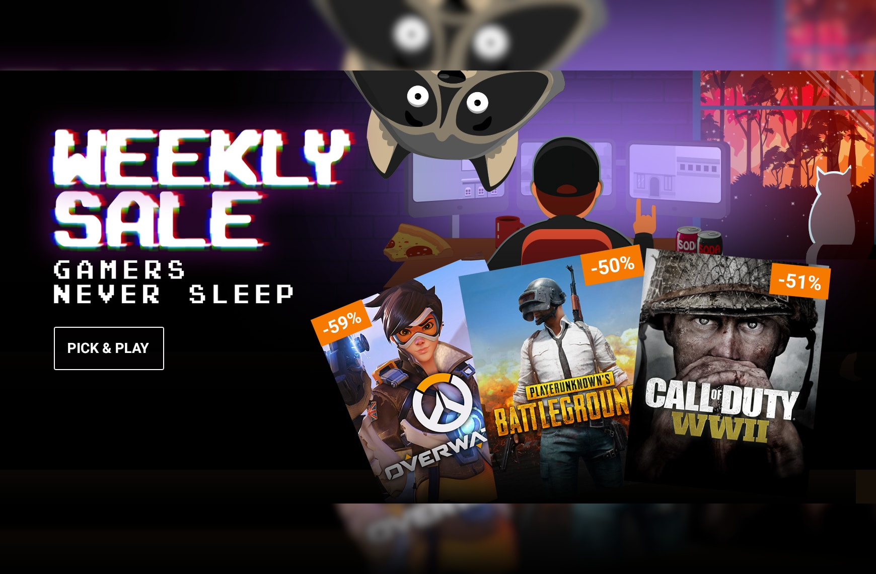 Games to pull an all-nighter for!