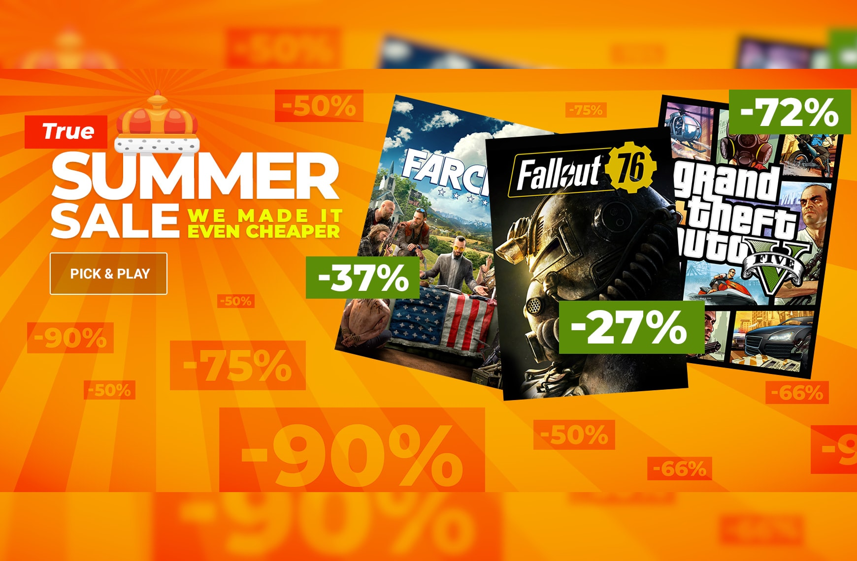 The Summer Sale to end all Summer Sales!