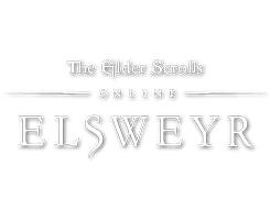 THE ELDER SCROLLS ONLINE - ELSWEYR THE ELDER SCROLLS ONLINE logo