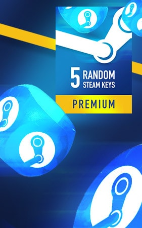 Random PREMIUM Steam Key GLOBAL 5 KeysSteam Key GLOBAL