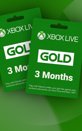Xbox Live GOLD Subscription Card 3 MonthsGLOBAL XBOX LIVE