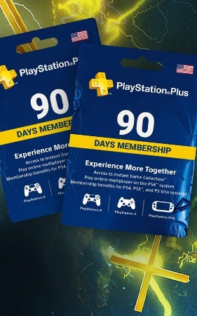 Playstation Plus CARD 90 Days NORTH AMERICA NORTH AMERICA PSN