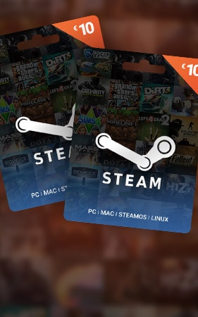 Steam Gift Card 10 EURSteam Key GLOBAL