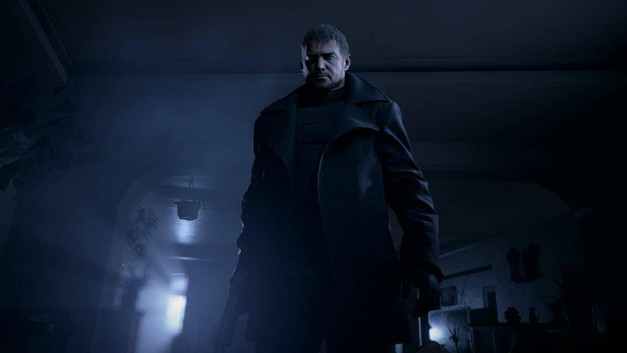 Chris in Resident Evil Village