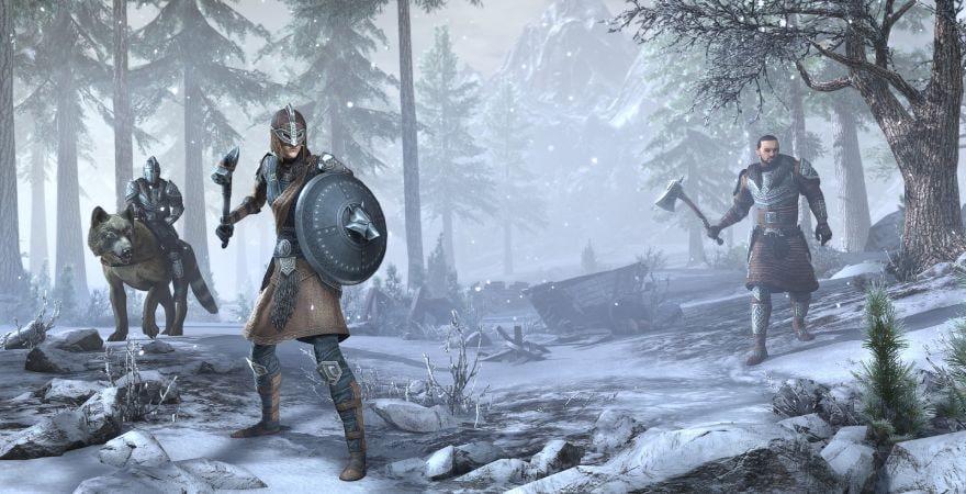 The Elder Scrolls Online - Greymoor Upgrade winter