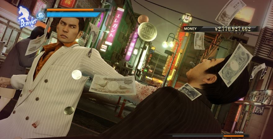 Yakuza 0 shoot