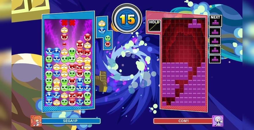 Puyo Puyo Tetris game