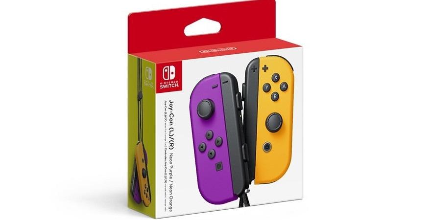 Nintendo Neon Purple/ Neon Orange