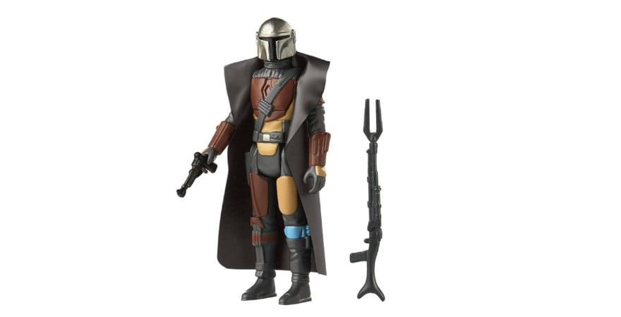 The Mando (The Mandalorian Series) - Star Wars S3 Retro Figures Assortment - Hasbro