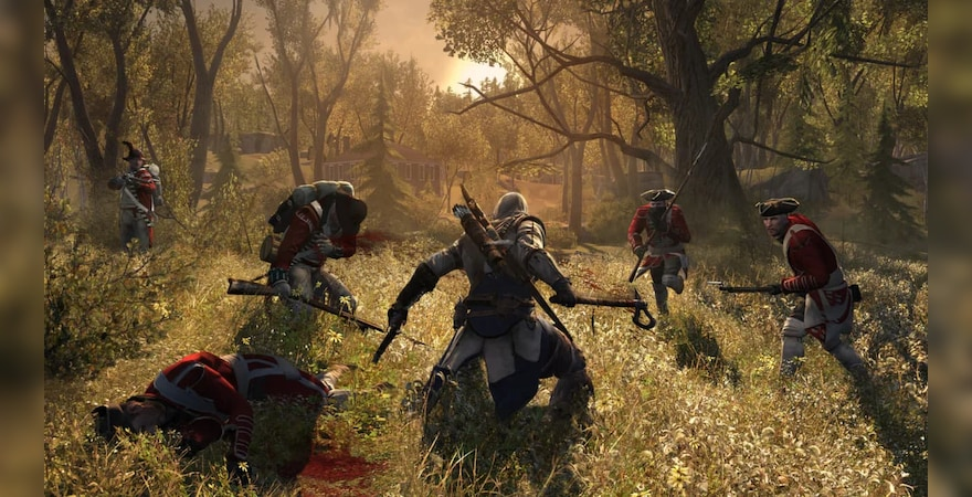 Assassin's Creed 3 fight