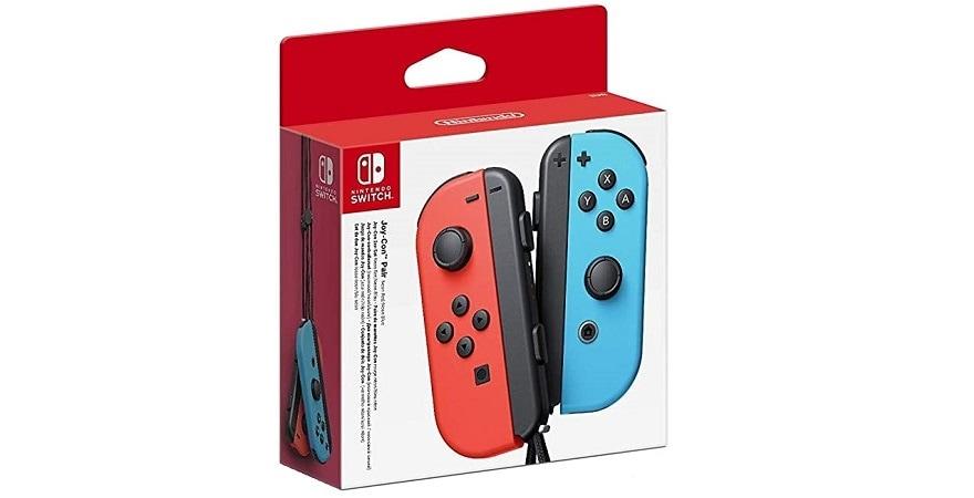 Nintendo Joy-Con (L)/(R) - Neon Red/Neon Blue
