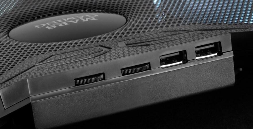 Gaming Cooling Base For A Laptop Mars Gaming Mnbc3 Rgb Black