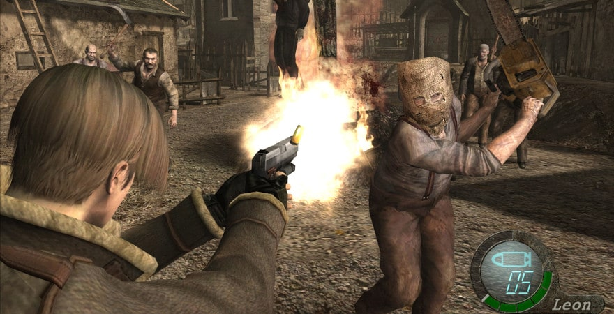 Resident Evil 4: Ultimate HD Edition - shooting