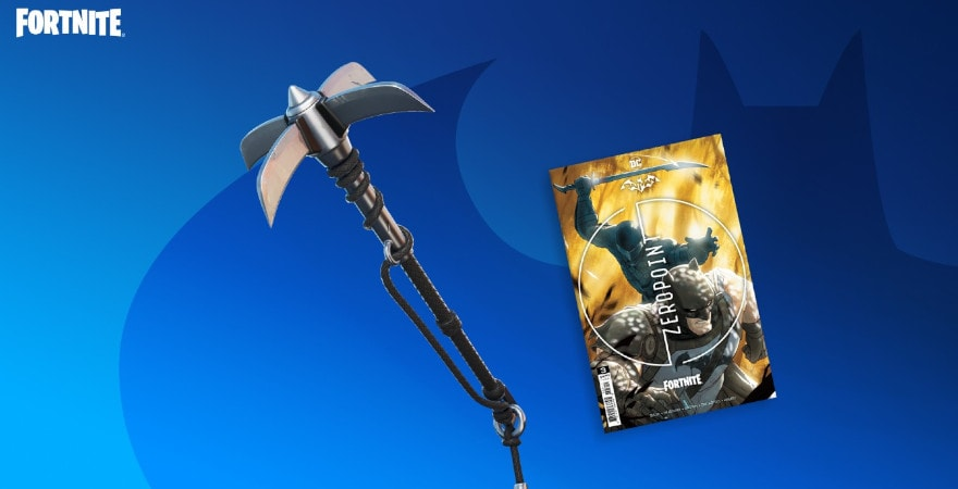 Fortnite - Catwoman's Grappling Claw Pickaxe