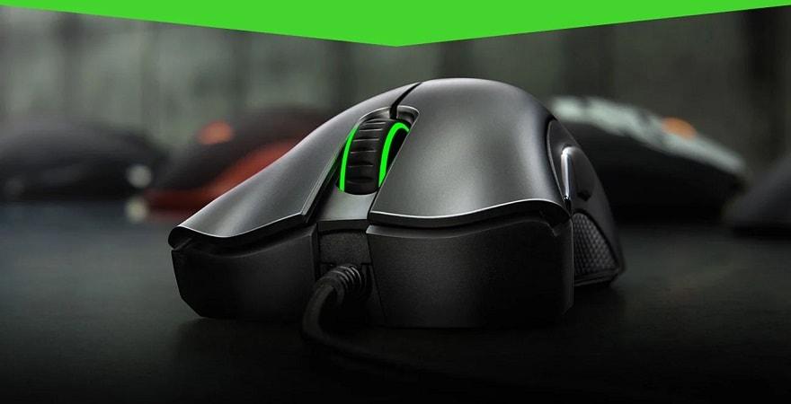 Razer Deathadder essential 6400DPI with original box - Black