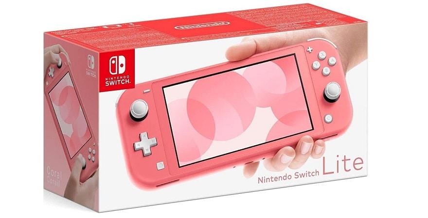 Nintendo Switch Lite -coral