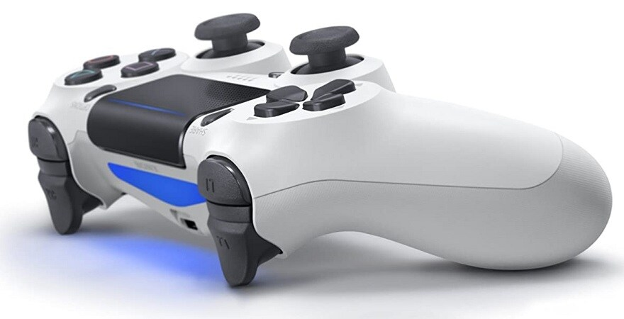 Sony PlayStation PS4 Dualshock 4 Controller, Glacier White
